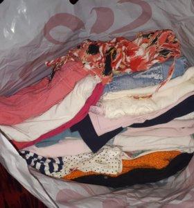 Пакет одежды на девочку 128-140