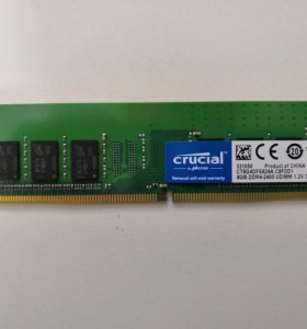 Оперативная память 8GB Crucial CT8G4DFS824A