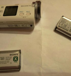 Аккумулятор для экшен камеры SONY NP BX1