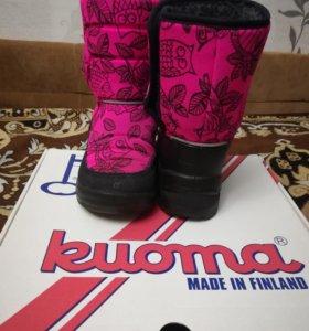 Сапоги для девочки Kuoma