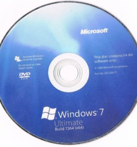 Windows 7 8 10 XP диск флешка для установки