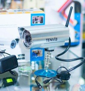 Беспроводная уличная ip-камера видеонаблюдения
