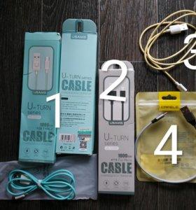 Кабели USB micro и Type-C