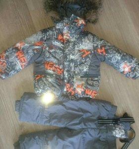 Зимний костюм 80 р