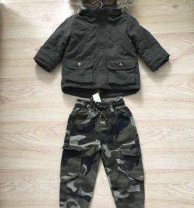 Детская парка и штаны