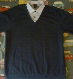 Рубашка мужская 2 в 1