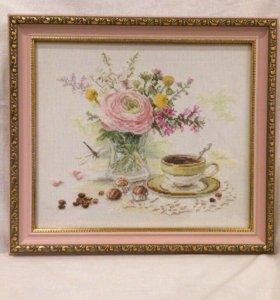 Картина «Утрений кофе»