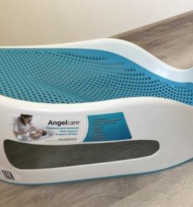Горка для ванной AngelCare голубая