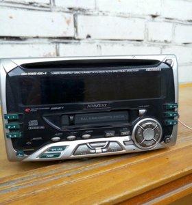 Автомагнитола ADDZEST ADX5555z , кассета + CD