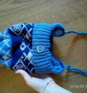 шапка детская зимняя