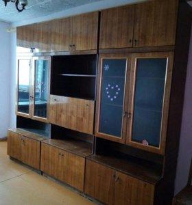 Стенка из 3 шкафов с пеналом