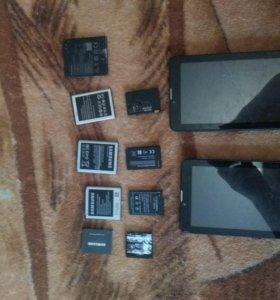 Телефоны, корпуса, планшеты,платы,батарейки на тел
