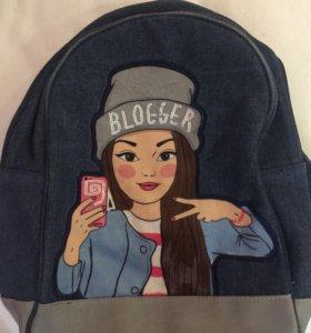 Рюкзак из «мармелато»