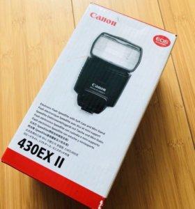 Новая вспышка для камеры Canon 430EX II