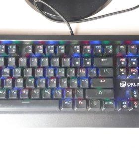 Клавиатура механическая OKLICK 950G IRON EDGE
