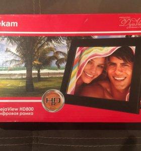 Цифровая рамка DejaView HD 800