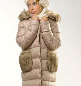 Утеплённое пальто, пуховик Пеликан новый