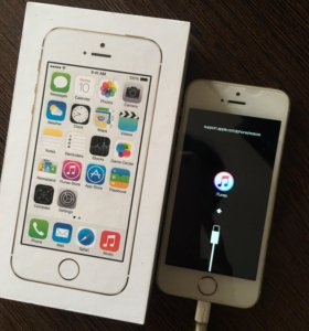 iPhone 5s gold на запчасти
