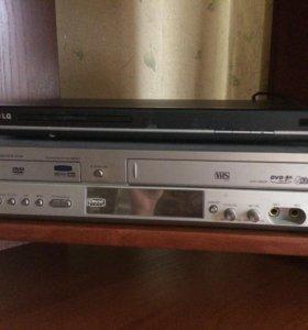 DVD и видеодвойка на запчасти