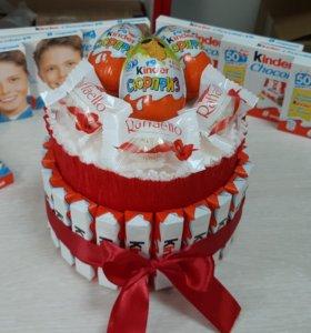 Киндер тортик