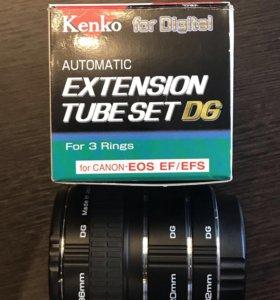 Макрокольца Kenko Extension Tube Set DG для Canon