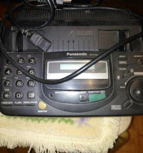 Стационарный телефон-факс panasonic