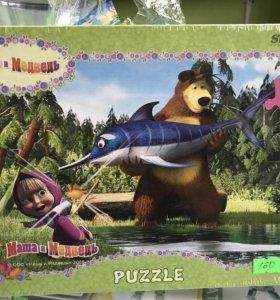 Пазлы Маша и Медведь