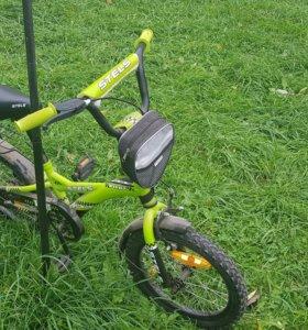 Детский велосипед Stels Pilot city taxi 130