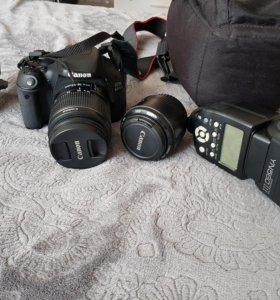Зеркальный фотоаппарат canon 600d в комплекте