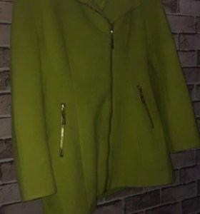 Пальто лимон 🍋 48