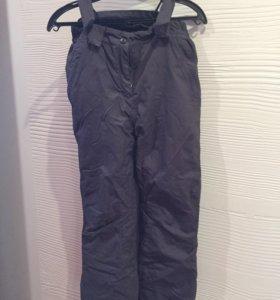 Зимние штаны для девочки 152 см