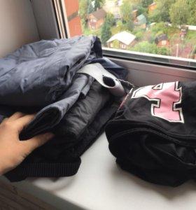Тёплые штаны + свитшот