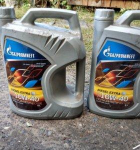 Масло моторное полусинтетика diesel extra 10w-40