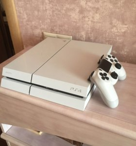 PS 4 White Limited Edition