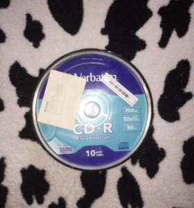 """CD-R диски """"Verbatim"""""""