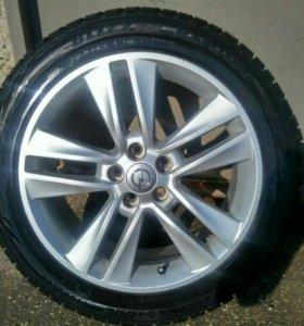 Зимняя резина с дисками на Opel Astra J