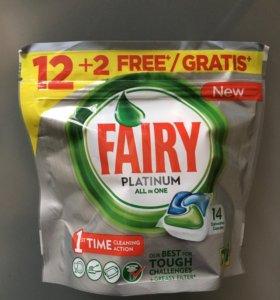 Капсулы для посудомоечной машины Fairy Platinum