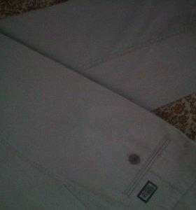 Мужские белые брюки