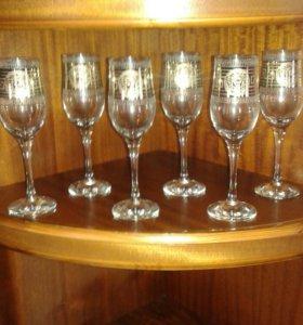 Фужеры и стаканы