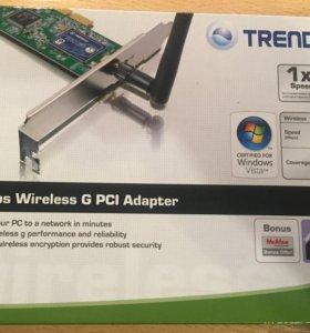 Wi-Fi адаптер Trendnet TEW-423PI