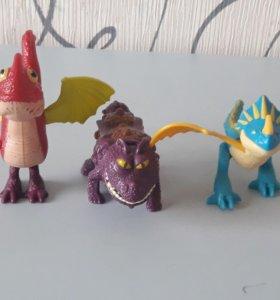 Игрушки из Макдональдса