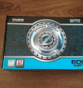 Блок питания Zalman Zm600-LX