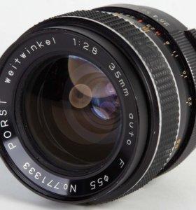 Объектив, Porst Weitwinkel 2.8/35mm Auto F (M 42)