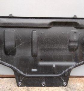 Защита двигателя vag skoda octavia (a7)