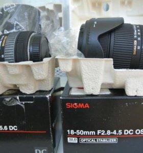 Sigma SD14 + 2 объектива