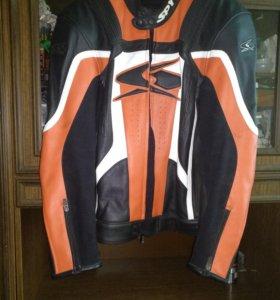 Кожаная Мото куртка фирмы SPYKE