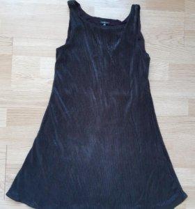 Черное платье для девочки