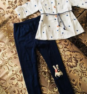 Детские рубашки и туники хлопок