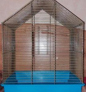 Большая клетка для птиц или грызунов