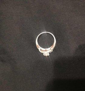 кольцо бриллиантовая